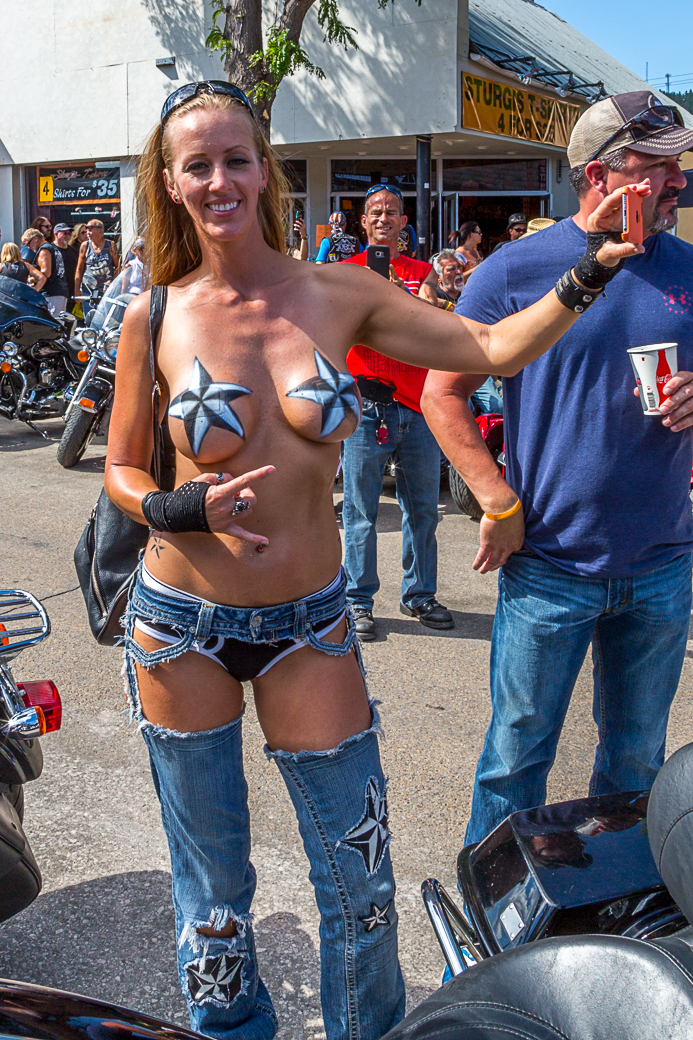 Consider, that Sturgis bike rally girls pussy the
